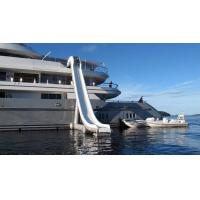 Outdoor Inflatable Water Floating Sports, Inflatable Yacht Slide For Boat/Yacht