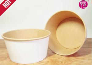 China 100% Bamboo Fiber disposable salad containers And Soup Bowl SGS Certification on sale