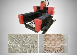 China High Stable Etching Tool Stone Carving Diy CNC Router Machine For Marble / Jade on sale