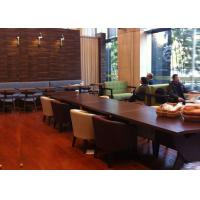 Modern Restaurant Booth Seat wood furniture , Restaurant Dining Chairs