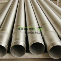 China OASIS Reverse Wire Wrapped Johnson Well Screens/Wedge Wire Screens on sale