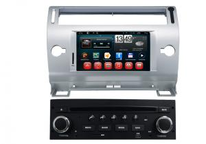 China Auto 8GB Car Raido Citroen DVD Player / Navigation System in Italian , 1024 x 600 pixels Screen on sale