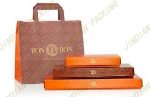 China 250gsm Plain Coated Paper Box For Sweet Food, Custom Chocolate Packaging Boxes on sale