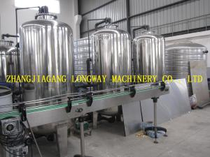 China Automatic stainless steel 3TPH water filter for industry on sale
