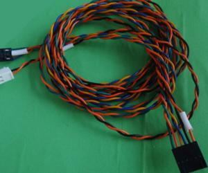 Twisted Wire Harness Cable Assembly Copy Molex 70066-01 Socket 70058 ...