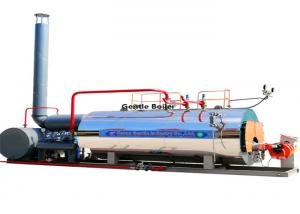 China Steam Output Fuel Oil Steam Boiler 1.5 Ton For Vulcanization Molding on sale