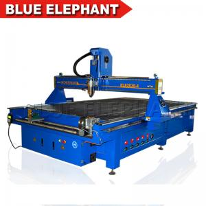 China Blue Elephant Large Size 2030 4 Axis Engraving Wood Cnc Router Machine Price Sale in India on sale