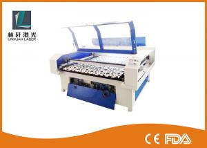 China ABS PVC Acrylic Laser Cutting Machine 60W 80W 100W 10.64μm Wavelength With Rotary Axis on sale