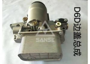 China D6D Engine Oil Cooler / Volvo Oil Cooler For Excavator Universal Oil Cooler Kit on sale
