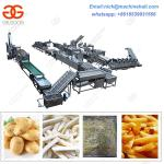 Factory Price Frozen French Fries Processing Line/Easy Operate Frozen French Fries Making Line