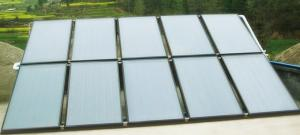 China Villa Split Renewable Energy Pressurized Flat Panel Solar Water Heater on sale