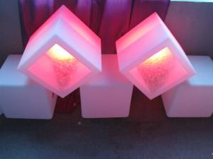 China Professional Custom LED ICE Bucket , Light Up Wine Bucket For Night Club on sale