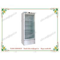 China OP-806 Single-temperature Medical Drug Storage Freezer ,Vertical Glass Door Freezer on sale
