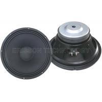12 Inch 75w PA Audio Car Mid Bass Speakers , Ferrite Magnet Paper Cone Speaker