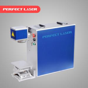 China Stainless Steel Laser Marking Machine Air Cooling With Ez - Card Control Software on sale