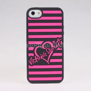 China Silicon Case For iPhone 5 with love desgin on sale