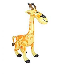 China Giraffe 36 Inch Inflatable Pool Animals ASTM963 CE For Outside Entertainment Toy on sale