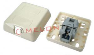 China Telephone Keystone Jack Module 2 Contact RJ11 Toolless With Gel For Wall Mount Socket on sale