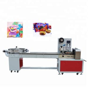 China Pillow Type Sugar Packing Machine , Stainless Steel Food Packing Machine on sale