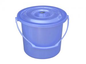 China PP plastic water bucket with lid on sale