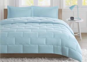 China Seersucker Warm Queen Size Down Comforter , Summer Weight Down Comforter on sale