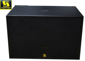 China Double 2500 Watt Active Subwoofer System Black Powered Subwoofer Pro Audio on sale