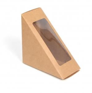 China Soy Ink Color Printing Sandwich Paper Box , Eco Friendly Packaging For Food Products on sale