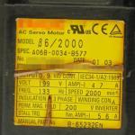 A06B-0034-B577 AC Servo Motor A06B0034B577 Used