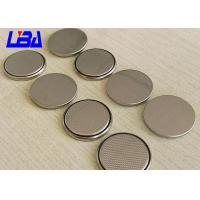 China Hearing Aid Li - MnO2 Coin Cell Battery , Long Life 3v Lithium Battery Cr2025 on sale