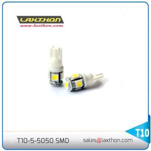 China 12V T10 5SMD W5W 194 168 5050 LED Auto Light Bulbs , Car Led Indicator Bulbs on sale