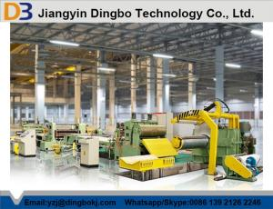 China DBSL-3x1300 Steel Sheet Steel Slitting line With Low Energy Consumption on sale
