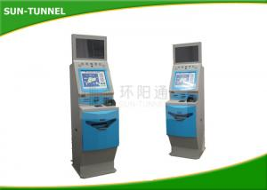 China License Based Self Service Ticket Machines At Railway Stations LED Display on sale