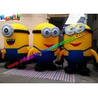 China PVC Coated Nylon Advertising Inflatables Replica Minion Inflatable Minion Model on sale