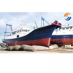 China Landing Docking Marine Rubber Airbag High Tensile Strength ISO14409 Certification on sale