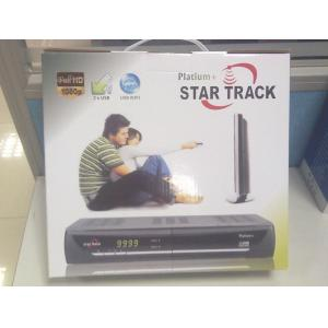 China STAR TRACK PLATIUM+ FULL HD1080P DVB-S2USB WIFI high definition digital satellite receiver on sale