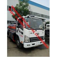 China Low Price Customize FAW 6 wheels 5 cbm fuel truck dimensions small 5000 liter jet fuel truck truck aluminum fuel tanks on sale