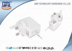 China AC DC Wall Mount Power Adapter 220v to 12v 0.5a UK Plug Black and White on sale