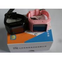 China Compact LBS Child Tracker Watch Smart MTK6261 GPRS High Sensitivity on sale