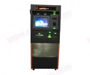 China High Safety Multifunctional Self service lobby Bank ATM machine with cash dispenser on sale