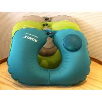 Easy Press Operate to Inflate Comfortable Inflatable Neck Travel Pillow,Customized Gifts for Promotional