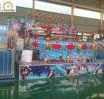 Customized Design Non-fading And Durable Painting   Amusement Equipment Park Tagada