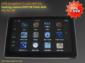 China LCD 7 inch tablet pc wit GPS navigation with Car tracking camera, FM, BT ( WinCE 6.0 ) on sale