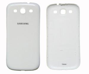 China White Samsung Galaxy S Housing Back Cover Of i9300 For Replacement Include Faceplate on sale