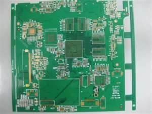 Hard Gold Green Custom Multilayer Printed Circuit Boards for