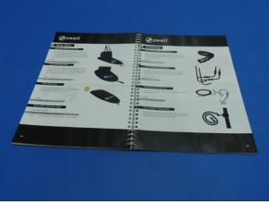China Customized Glossy Paper Catalogue Printing Service Case Bound / Magazine Printing on sale