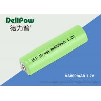 Convenient 800mAh Aa Nimh Rechargeable Battery With Wide Application