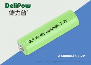 China Convenient 800mAh Aa Nimh Rechargeable Battery With Wide Application on sale