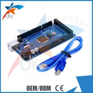 China Mega 2560 R3 ATMega16U2 Controller Blue PCB Main Board For Arduino on sale