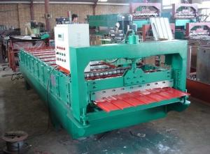 China 350 H Welding Sheet Steel Roll Forming Machine 5.5kw With 40 Foot Container on sale