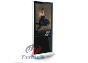 China 65 Inch 4K LCD Display Free Standing Advertising Digital Signage For Subway on sale